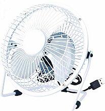 Mini-Usb-Ventilator 8-Zoll Office Desktop Kleiner Ventilator Mute Ventilator, Weiß (1 Gang), 19,1 * 19,4 * 9 Cm