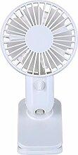 Mini USB Ventilator Clip Fan mit 360°