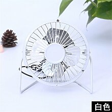 Mini USB-Ventilator Metal Fan 4 Zoll Ultra-leise