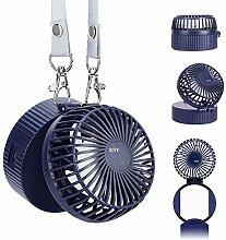 Mini Ventilator 3 Einstellbare Geschwindigkeiten