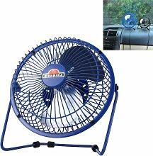 Mini Ventilator ideal für Auto,KFZ,Büro,Zuhause am PC,Wohnmobil,Camping,Reisen