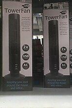 Mini Ventilator USB Torretta Tower Fan 2Speed PC