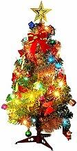 Mini Weihnachtsbaum Puppenhaus Geschmückt, Buntes