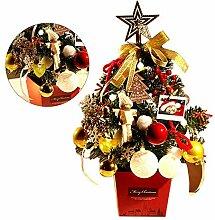 Mini-Weihnachtsbaum, Tischdekoration,