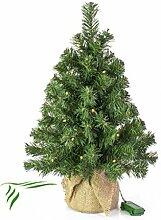 Mini Weihnachtsbaum WARSCHAU mit LED's,