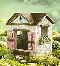 Miniatur Fairy Garden Schuppen mit Windows