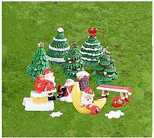 Miniatur Garten Ornamente Mini Weihnachtsdeko, 14