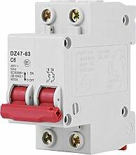 Miniatur-Leistungsschalter-DZ47-63 AC400V 50Hz 6A