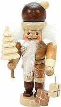 Miniatur-Nussknacker Weihnachtsmann
