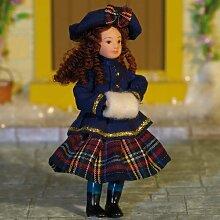 Miniatur Puppenhaus 1:12, nostalgische Accessoires, Mädchen