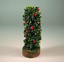 Miniatur Strauch mit Früchten. Für Krippenbau