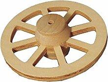 Miniatur-Wagenrad aus Holz, 8cm