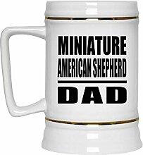 Miniature American Shepherd Dad - Beer Stein