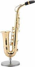 Miniaturmodell Saxophon-Modellständer, Saxophon,