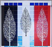 Miniflächen-Set mit Baum rot schwarz weiß