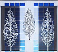Miniflächen-Set schwarz weiß mit Baum