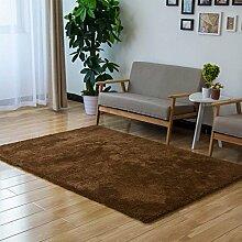 Minimalist Moderne Teppich für Wohnzimmer Schlafzimmer Badezimmer 5 Größen erhältlich (6 Farben) ( farbe : 5 , größe : 1.2*1.7m )