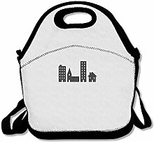 Minimalist Unisex Lunch Box Food Bag Lunch Bag For
