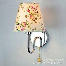 Minimalistisch Modern Bed Single Wandleuchten, der Leiter der Schlafzimmer Wandleuchten, Hotel Zimmer Engineering Lampen