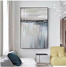 Minimalistische abstrakte graue Segelboot