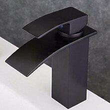 Minimalistische Antike Beschläge Schwarz Bronze Energiesparende Und Ökologische Qualität, Single-Waschtisch Armatur