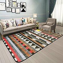 Minimalistische Teppich Moderne Schlafzimmer in voller Größe Sofa Room Carpet (Farbe : A, größe : 190x240cm(75x94inch))