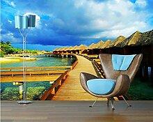 minimalistischen Stil Tapete Wohnzimmer Tapete Schlafzimmer 3D Wallpaper Wandbild 450X350cm