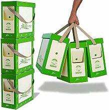miniMaxxx Mülltrennsystem Mülleimer 3-Fach mit