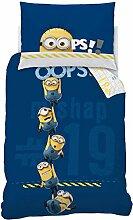 Minions 042673 Bettwäsche Oops Blue, Baumwolle