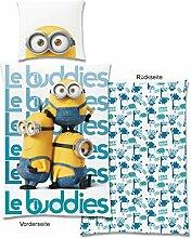 Minions Bettwäsche Les Buddies II, 135x200cm
