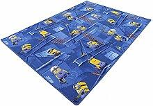 Minions HEVO® Spielteppich | Kinderteppich 200x200 cm