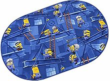 Minions HEVO® Spielteppich | Kinderteppich 200x280 cm Oval