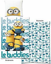 Minions Le Buddies II Wende-Bettwäsche Global