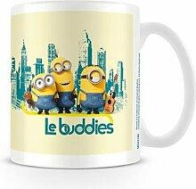 Minions Le Buddies Keramikbecher, Mehrfarbig