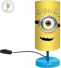 Minions : Nachttischleuchte - Kinderzimmer Lampe