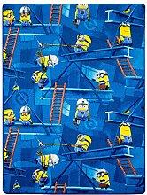 Minions Teppich blau Kinderteppich Spielteppich 125x180cm