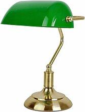 MiniSun - Traditionelle Bankerlampe mit einem