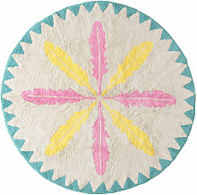 Minividuals waschbarer Teppich ´´Federn´´ aus