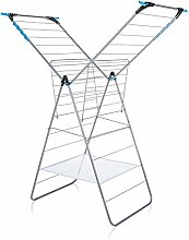 Minky X Flügelwäschetrockner, metall, Weiß, 24m