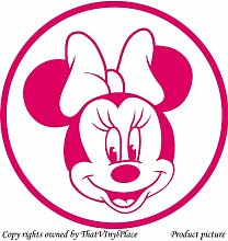 Minnie-Maus-Design, 60 cm x 60 cm, Blush,