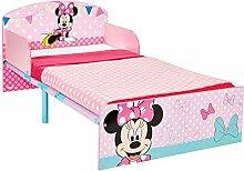 Minnie Mouse Bett für Kleinkinder, Holz, rosa,