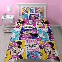 Minnie Mouse Haltung Einzel Bettwäsche Cover und
