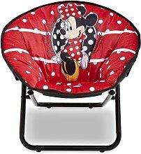 Minnie Mouse Kinder-Klappsessel (Rot)