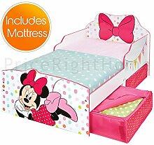 Minnie Mouse Kleinkind Bett mit Lagerung Plus