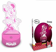 Minnie Mouse LED Acryl 2D-Lufterfrischer Ringe