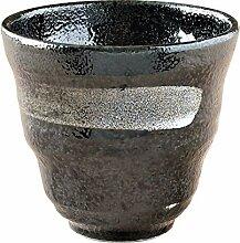 Minoru Touki Lock Glas Black Crystal White Basting