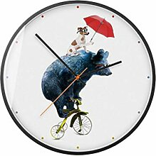 MINRAN DECOR Kunst Wanduhr Home Uhr Nordic
