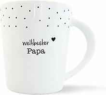 mintkind® Kaffeebecher Weltbester Papa besten