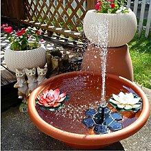 Mintu Solar-Vogeltränke, Wasserpumpe, 1,5 W,