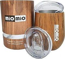 MIOMIO - Dreifach isoliertes Glas ohne Stiel